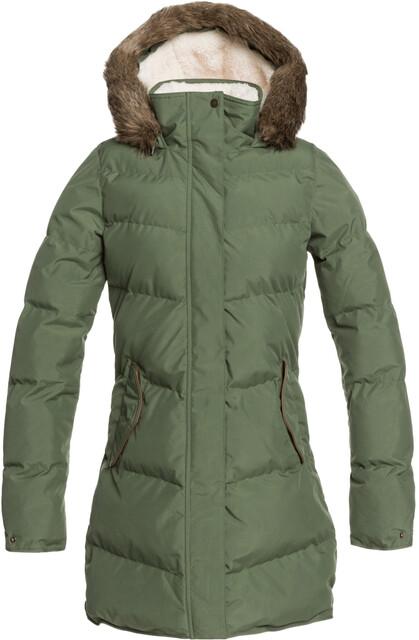 Roxy Ellie Plus Jacket Women, bronze green